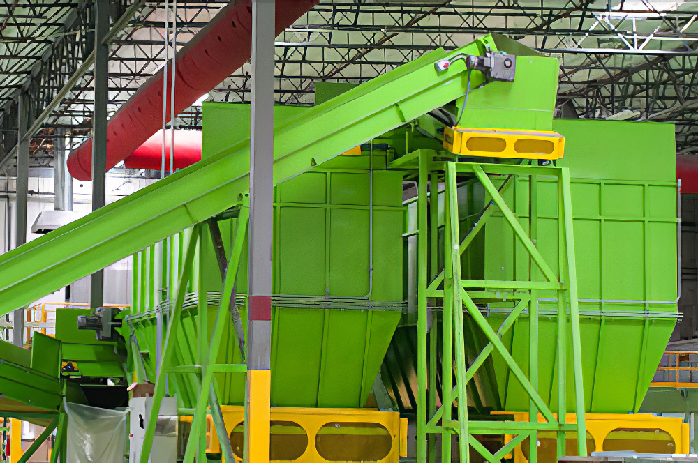 recycling plant interior photo