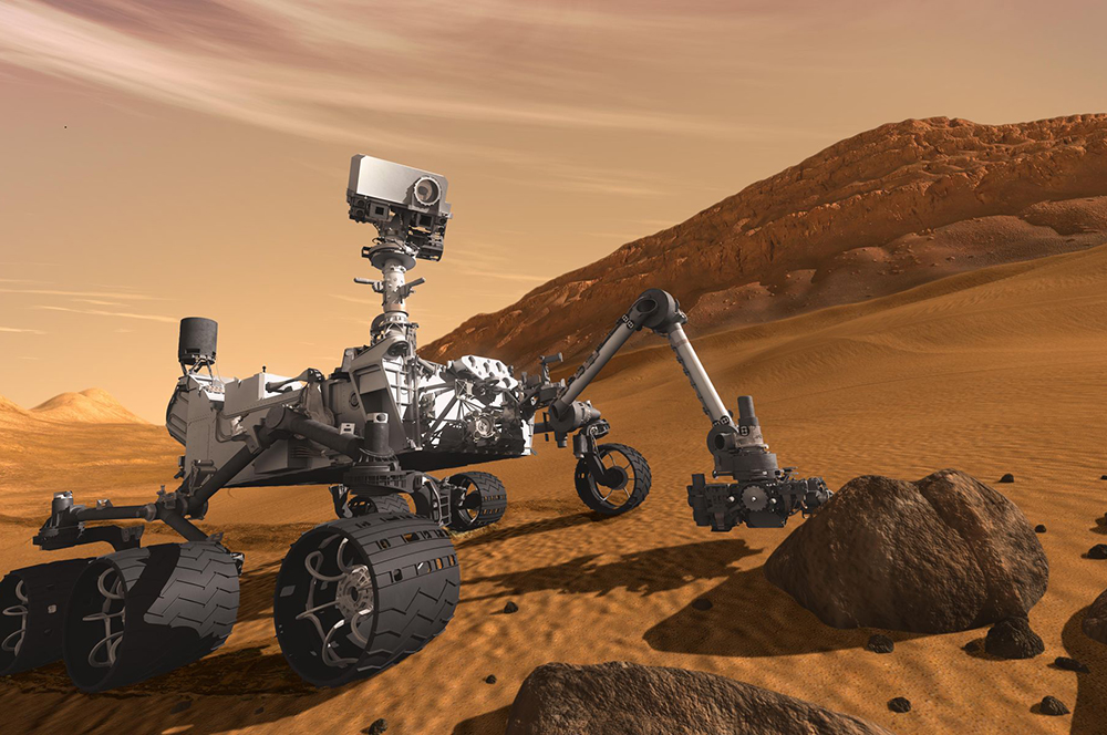 mars rover simulation photo