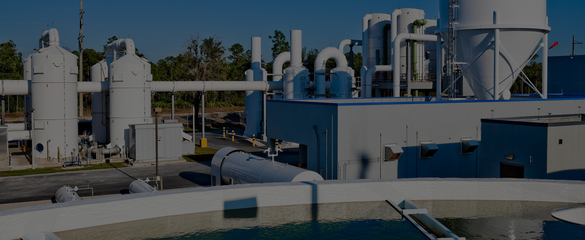 water treatment plant photo