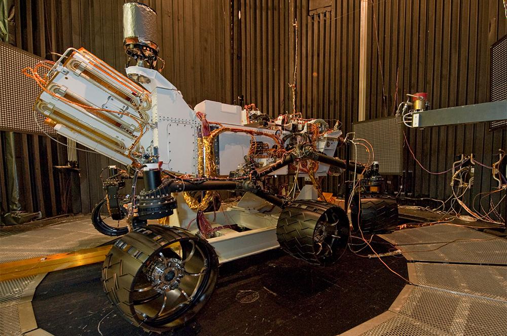 MSL Curiosity Flight Rover photo