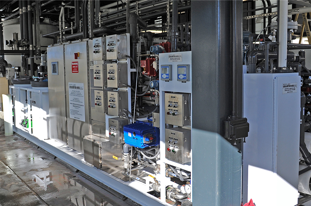 Controls at a Desalination Plant